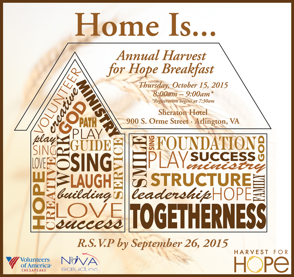 6th Annual HFH RSVP